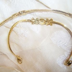 Avon Jewelry - Avon Snake Adjustable Necklace Choker & Bracelet